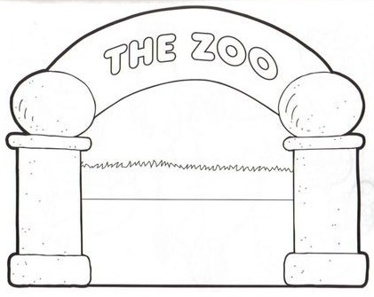 memphis zoo coloring pages - photo#30