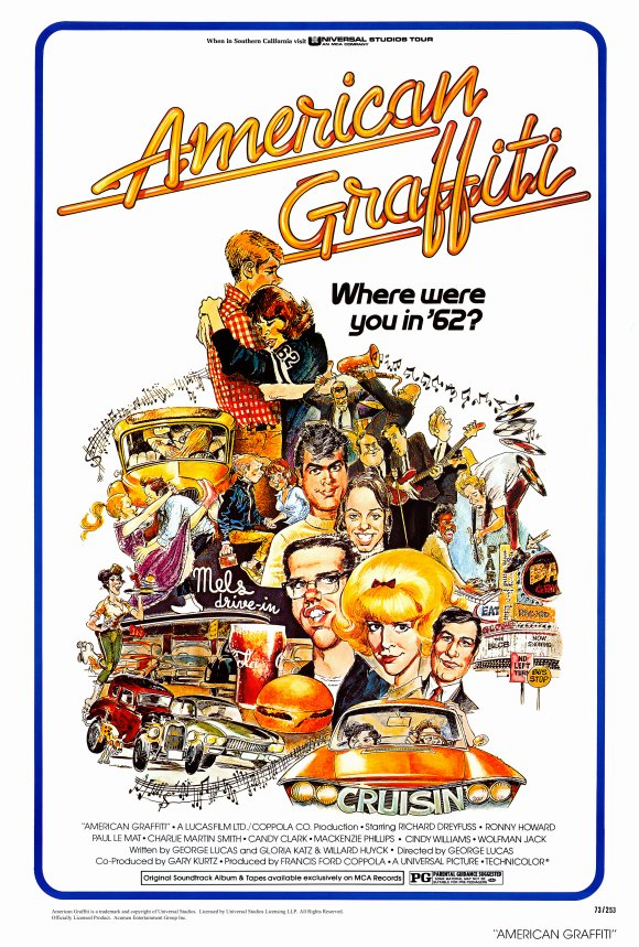 American Graffiti Movie Posters From Movie Poster Shop