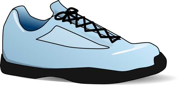 Cartoon Running Sneakers Free Cliparts That You Can Download To You