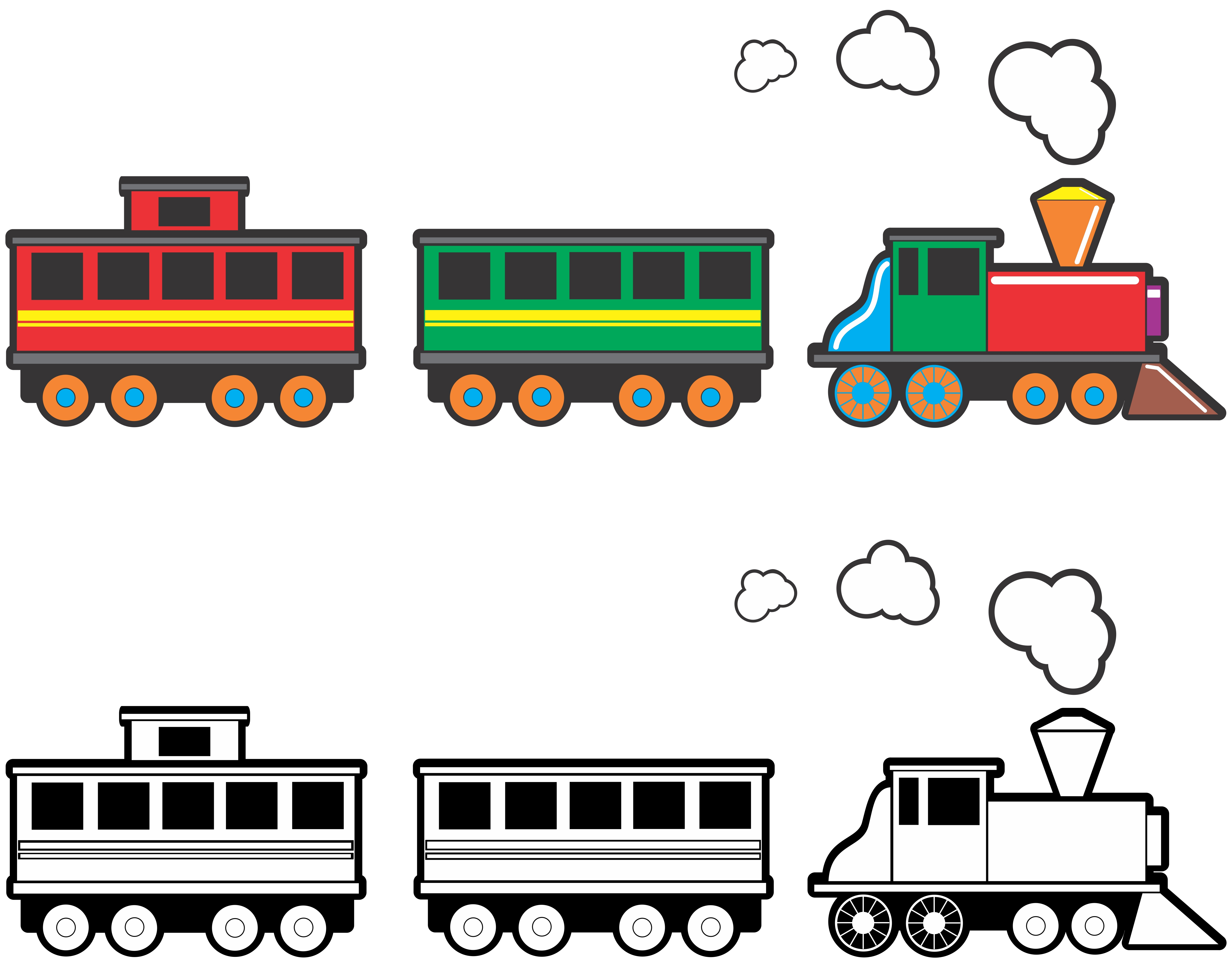 Train Graphics Clipart
