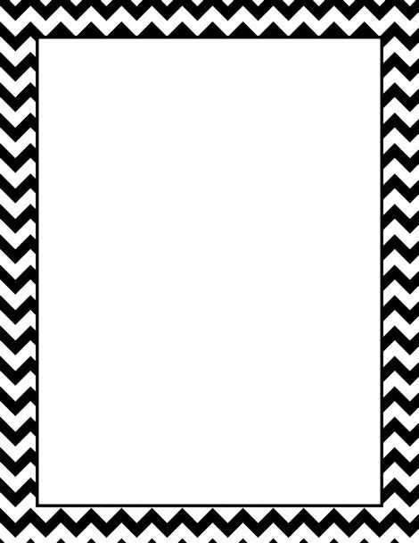 Chevron Page Boarder Clipart - Clipart Kid