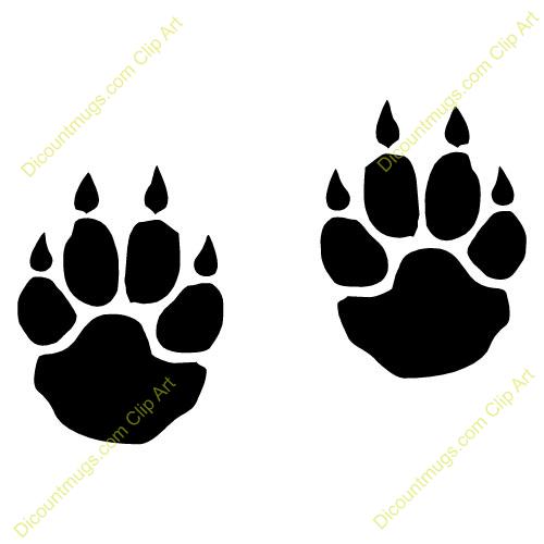 Bobcat Paw Clipart