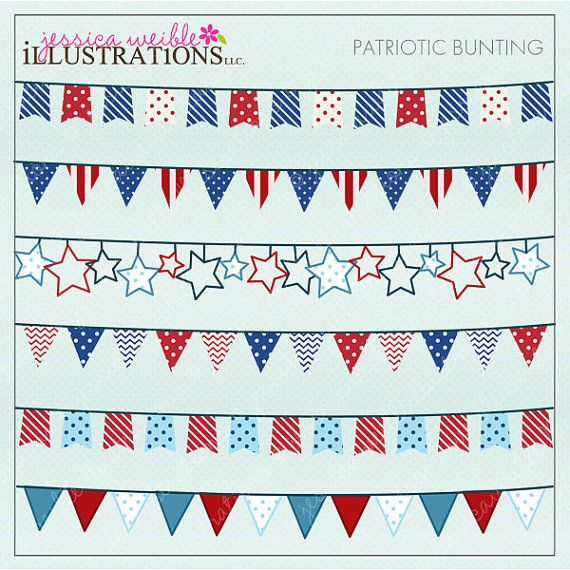 Clipart For Card Design Scrapbooking And Web Design 4th Of July