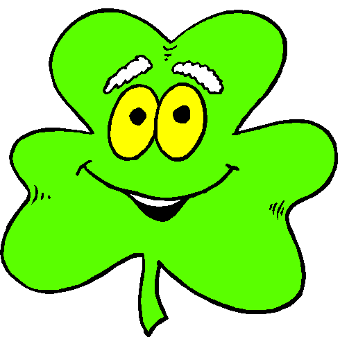 Animated Shamrock Clipart - Clipart Kid