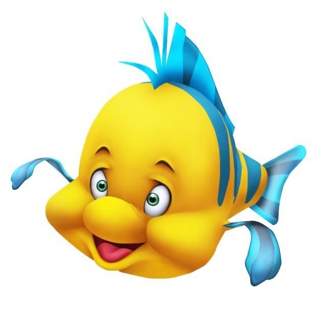 Fish Little Mermaid Clipart - Clipart Kid
