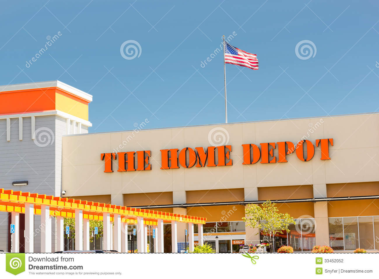 Home Depot Store On September 5 2013 In Sacramento California The Home