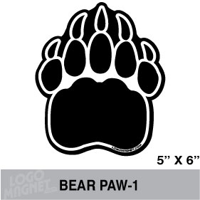 Clip Art Bear Paw Clip Art bear paw clipart kid index of f 8170d5aca