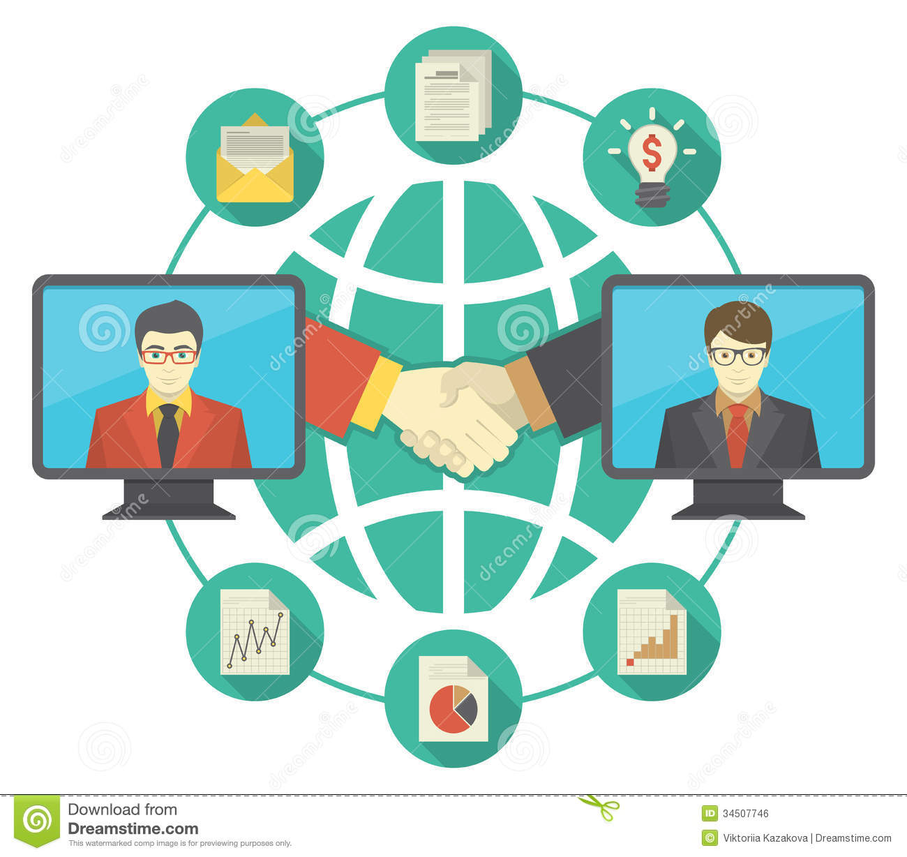 Of Business Cooperation With The New Information Sharing Technologies