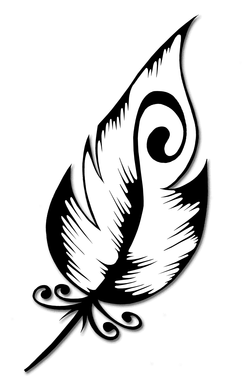 Elegant Feather Henna Design  Step By Step How To