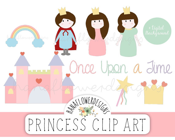 Princess Digital Embellishments  Clipart   Once Upon A Time Palace