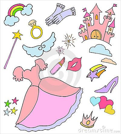 Rainbow Princess Crown Royalty Free Stock Images   Image  8892159