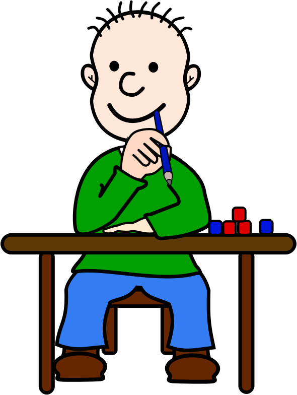 Sitting At Table Clipart   Cliparthut   Free Clipart