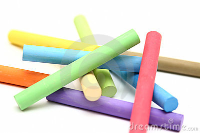Clip Art Chalk Clipart piece of chalk clipart kid stack color sticks stock photo image 18097680