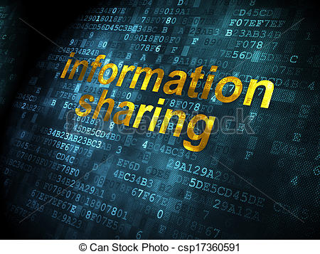 Stock Photo   Data Concept  Information Sharing On Digital Background