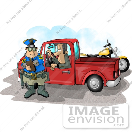 Traffic Ticket Clipart    17709 By Djart   Royalty Free Stock Cliparts