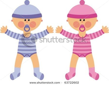 Twin Baby Monkeys Clipart - Clipart Kid