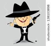 Al Capone Clip Art Vector Al Capone   11 Graphics   Clipart Me