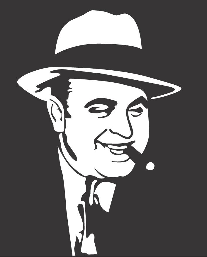 Al Capone Clipart