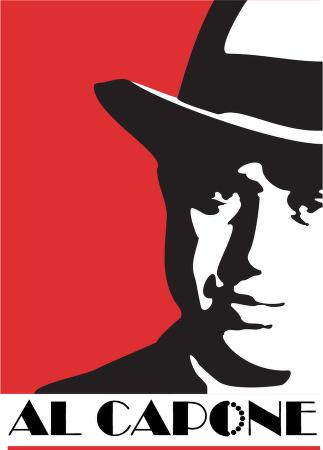 Al Capone Clipart Vector Logo  Al Capone Vector