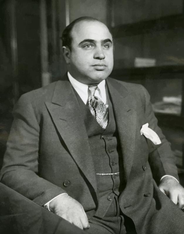 Alphonse Gabriel Capone Portrait  1930