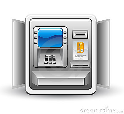 Atm Machine Royalty Free Stock Images   Image  22763029