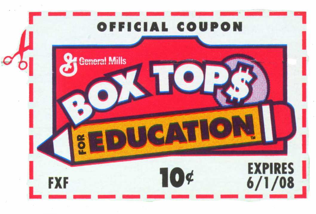 Box Tops For Education   It S More Then Just A Piece Of Paper