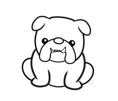 Cute Bulldog Clipart - Clipart Kid