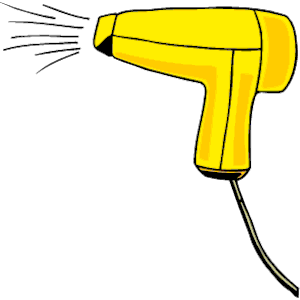 Hair Dryer 07 Clipart Cliparts Of Hair Dryer 07 Free Download  Wmf