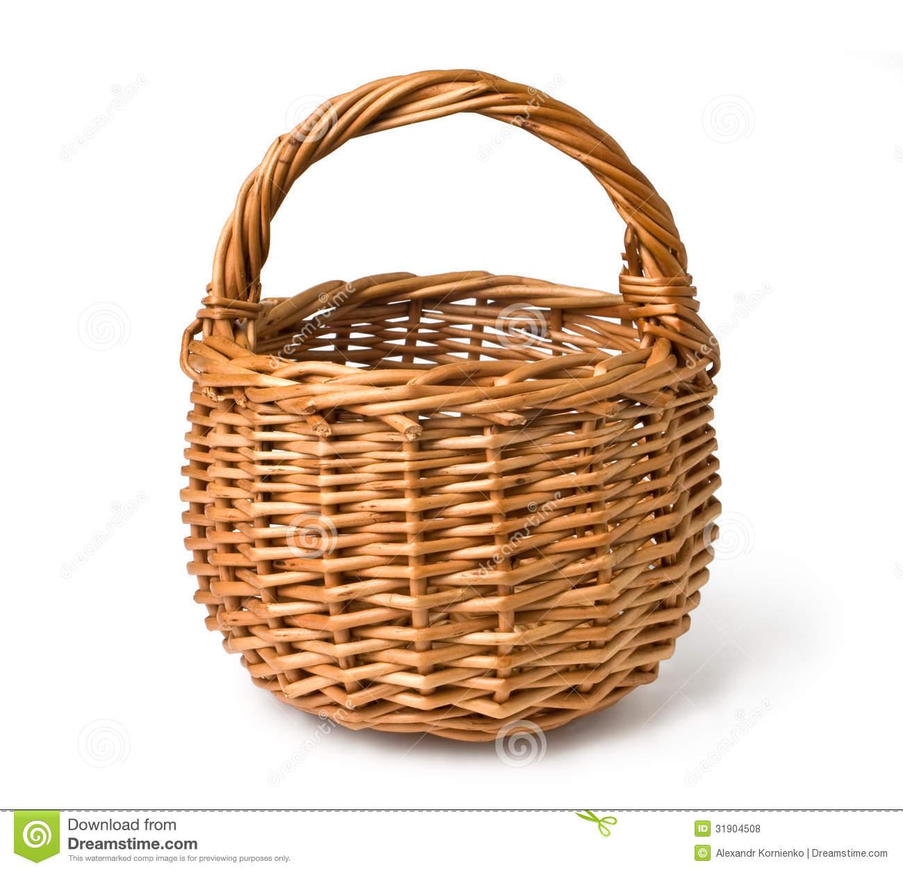 Empty basket clipart clipart suggest for Clipart basket