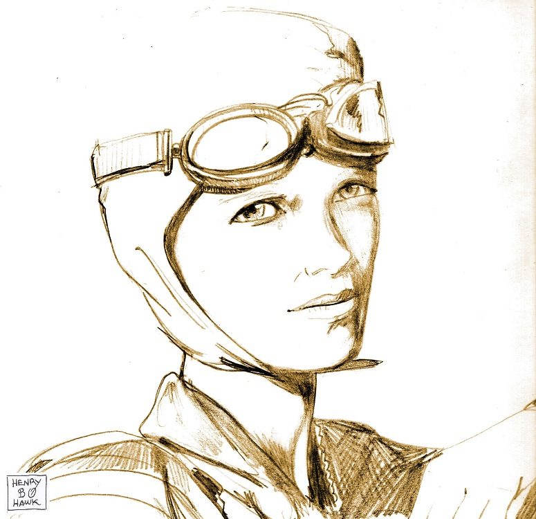 Amelia Earhart By Bluehawk 55 On Deviantart