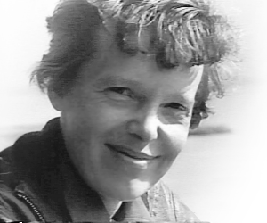 Amelia Earhart Just Prior To Final Flight 1937 Clipart