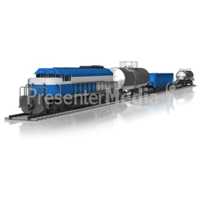 Cargo Train   Presentation Clipart   Great Clipart For Presentations