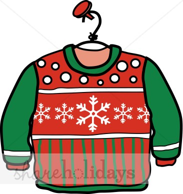 Christmas Sweater Clipart   Christmas Clipart
