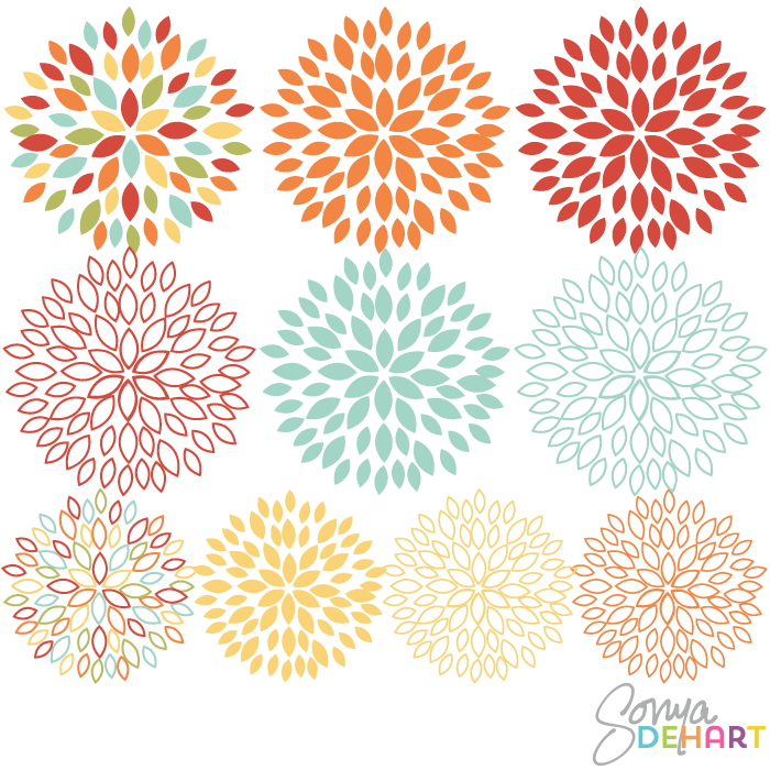 Blooming Flower Clipart - Clipart Kid