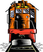 Freight Train Clip Art Eps Images  455 Freight Train Clipart Vector