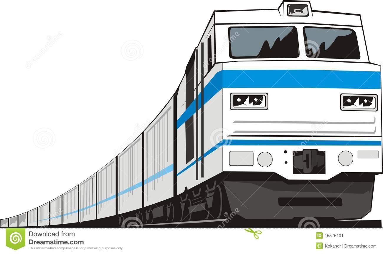 Cargo Train Animated Clipart - Clipart Kid
