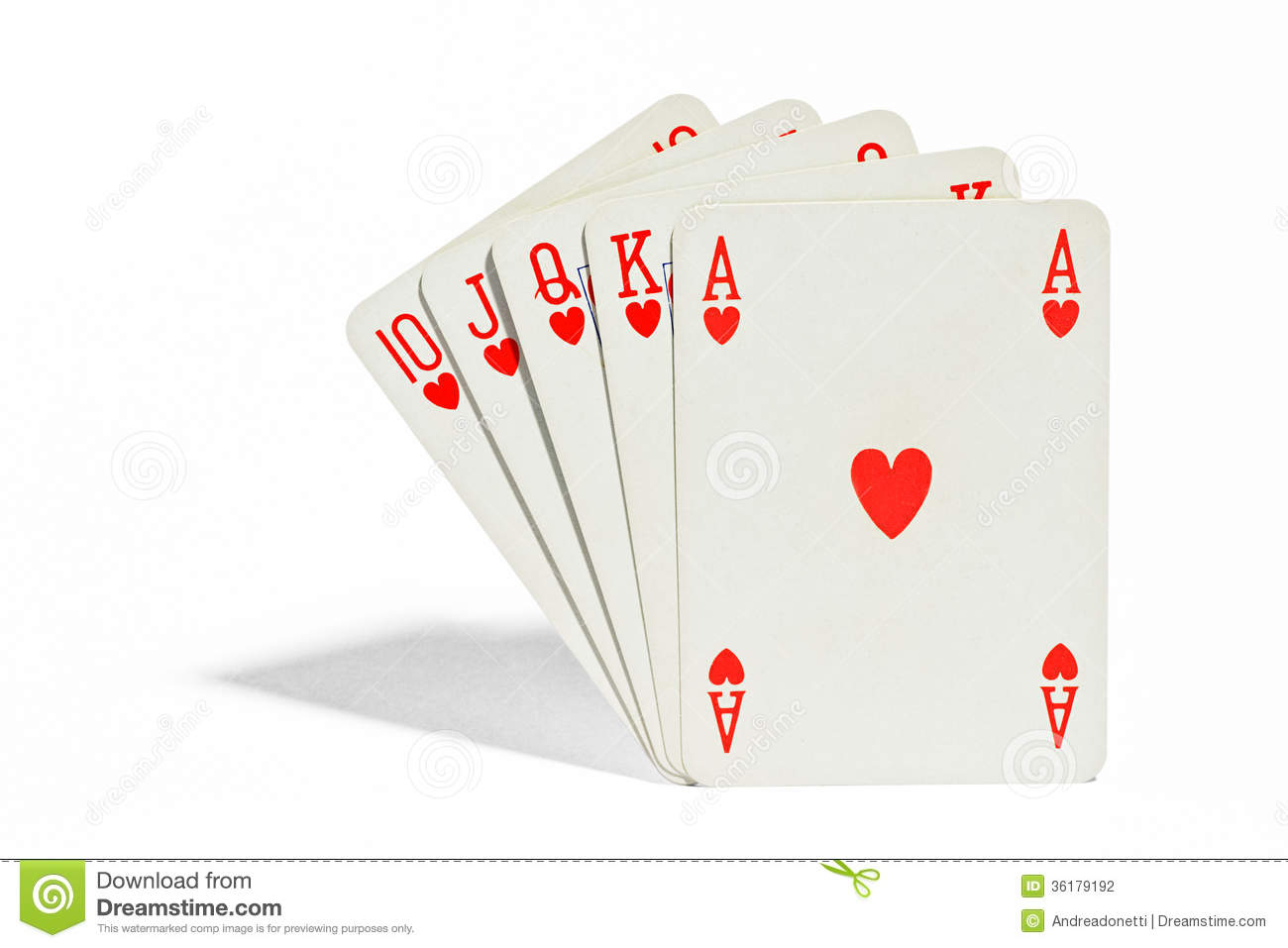 poker hands royal flush