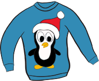 Here We Have A Super Cute Piece Of Christmas Sweater Clipart   A