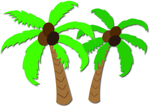 Hawaii Palm Trees Clipart - Clipart Kid