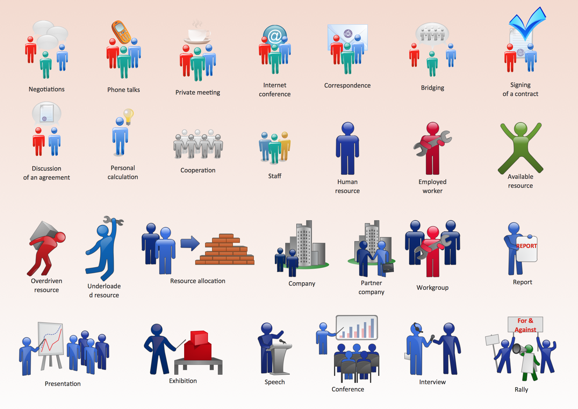 Pic 1 Business People Figures