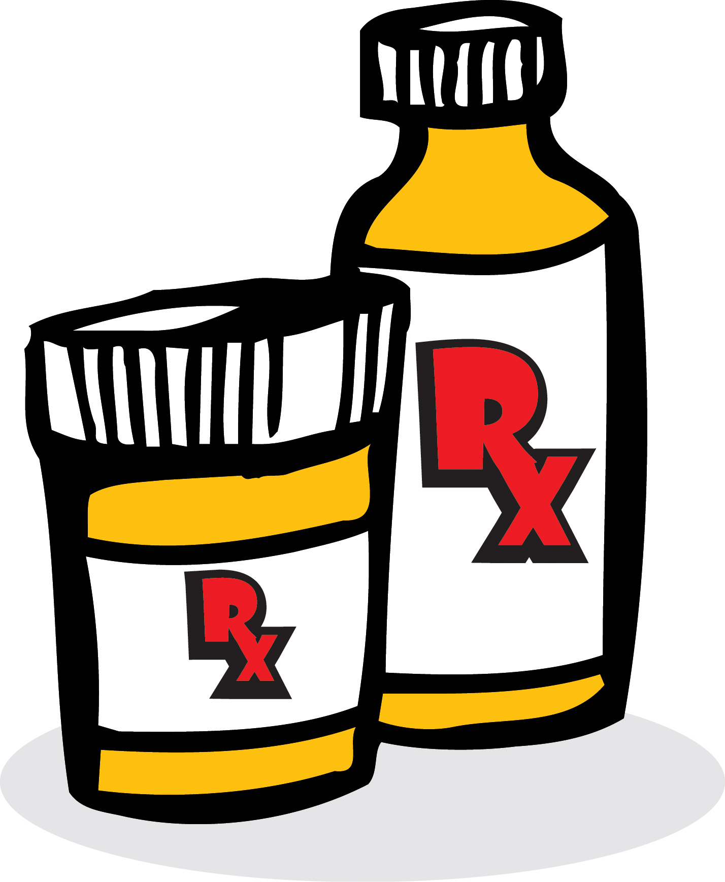 Prescription Bottle Clipart - Clipart Suggest