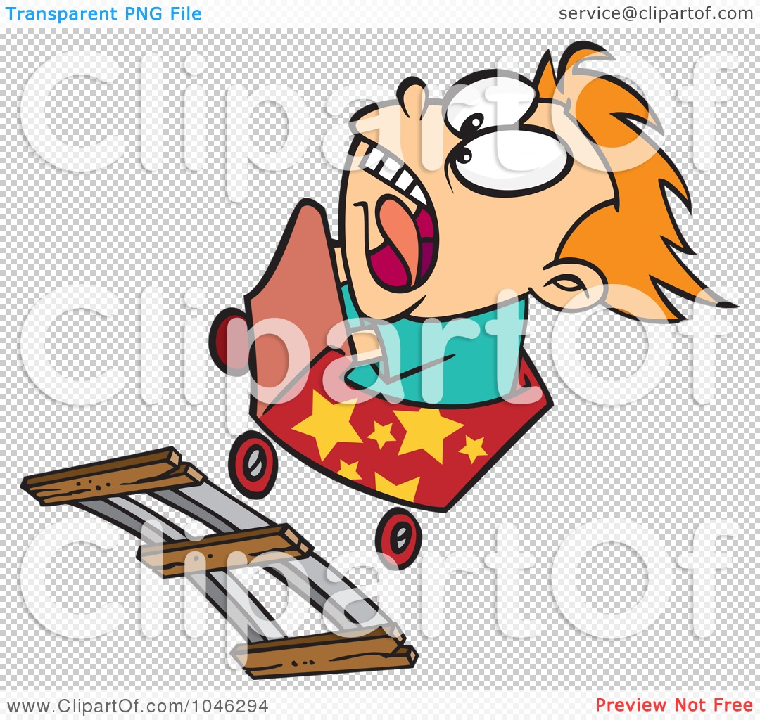 Royalty Free  Rf  Clip Art Illustration Of A Cartoon Boy Screaming On