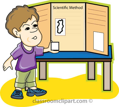 Science   Science Fair Boy   Classroom Clipart