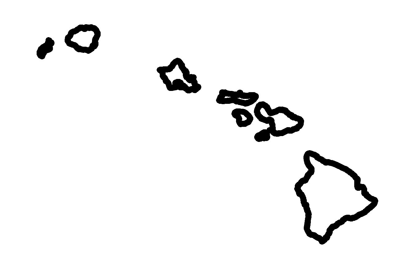 Stock Maps   Maps Of Hawaii   Maps For Entire State And Islands