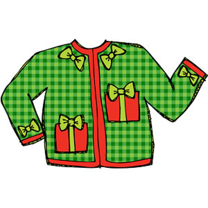 Sweater Clipart Christmas Sweater Jpg