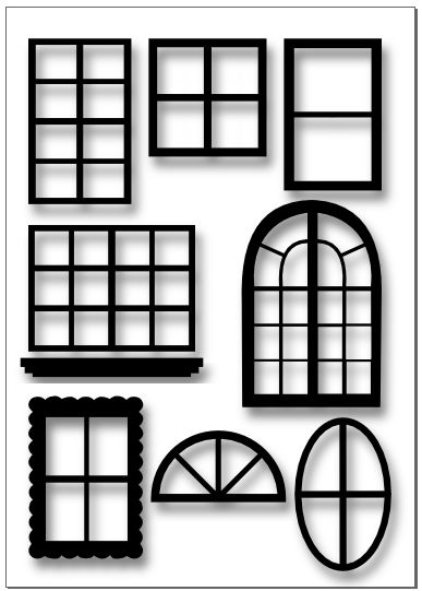 House Window Clipart | Free download on ClipArtMag |Window Pane Clipart