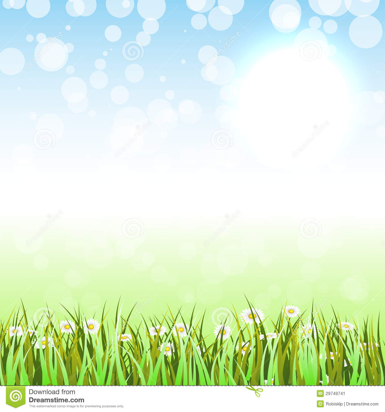Spring Background Clipart - Clipart Kid