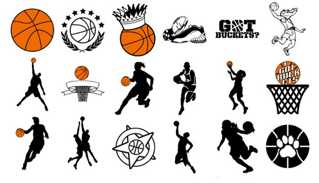 Basketball Designs   New Basketball Clipart   Design Ideas Added To