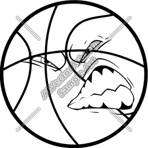 Bskblgrwl Clipart And Vectorart  Sports   Basketball Vectorart And