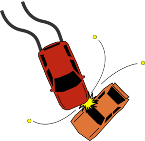 Car Accident Collision Clip Art At Clker Com   Vector Clip Art Online
